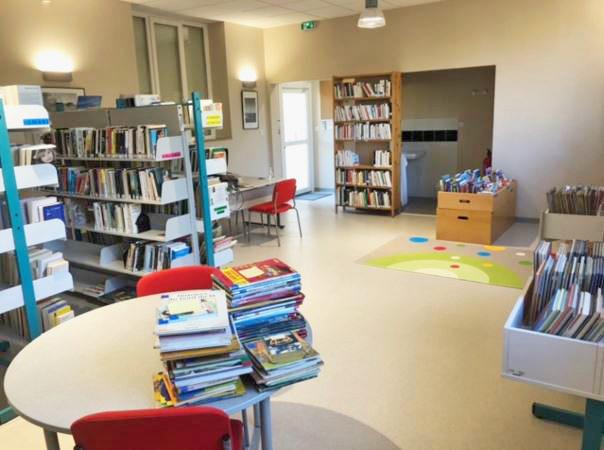 Combas Gard Bibliothèque