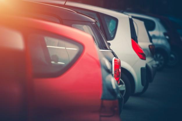 Parking aménagé